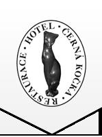 Restaurace a hotel Černá kočka ve Štítech